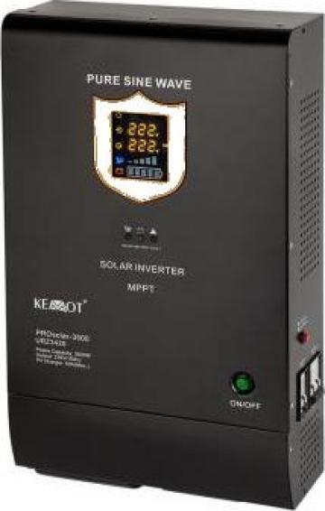 Invertor solar 3500W, 48V Prosolar-3500 Kemot de la Electro Supermax Srl