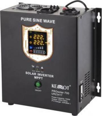 Invertor solar 700W, 12 V Prosolar-700 Kemot de la Electro Supermax Srl