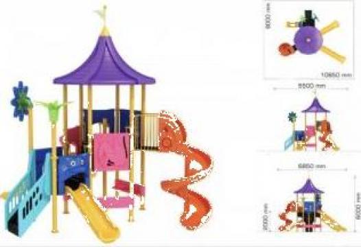 Echipamente pentru parcuri de joaca destinate copiilor