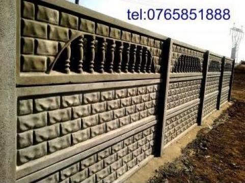 Gard caramida zidita de la Afrin Moustafa Srl