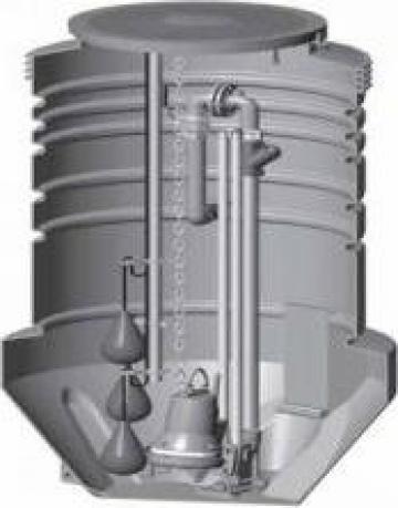 Statie pompare apa uzata Grundfos de la Master Engineering Srl