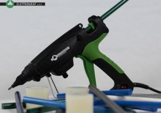 Pistol de lipit cu adeziv Hot Melt E300 de la Elettrograf Srl