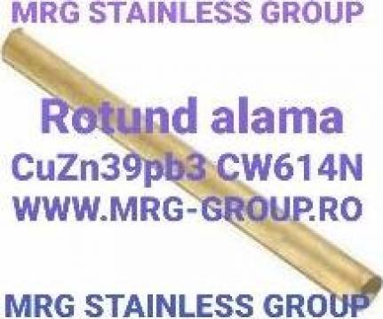 Bara alama rotunda 10mm CuZn39pb3 CW614N de la MRG Stainless Group Srl