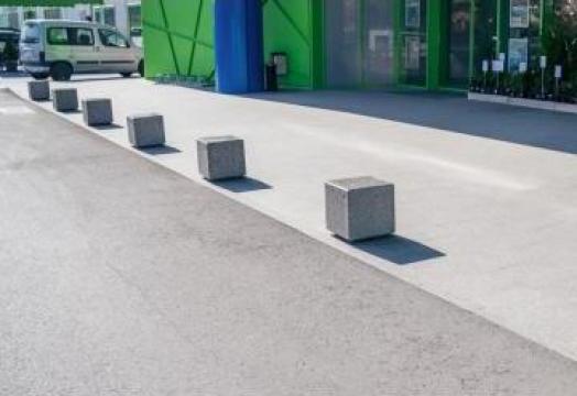 Bolard / scaun din beton LED 184