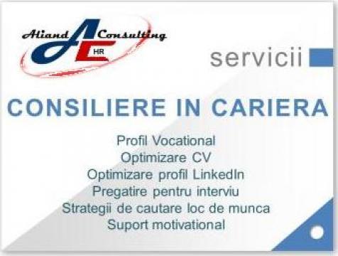 Consiliere in cariera de la Aliand Consulting SRL