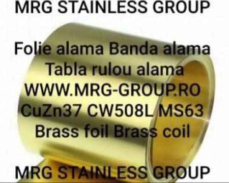 Banda alama 0.3x280mm CuZn37 CW508L