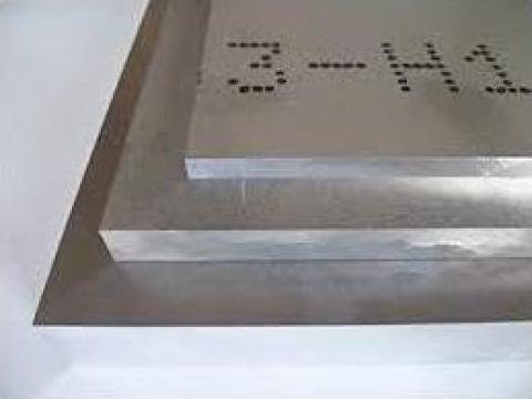 Placa aluminiu 12mm, tabla aluminiu, alama, cupru