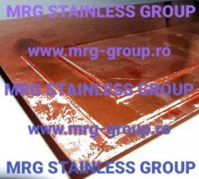 Tabla cupru electricitate CW004A Cu-ETP E-Cu57 W 2.0060 de la MRG Stainless Group Srl
