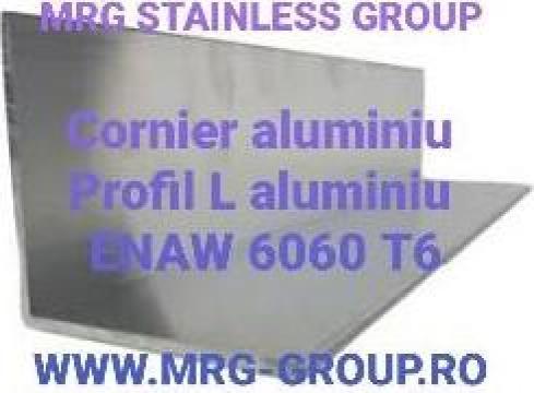 Profil L aluminiu 100x100x3mm de la MRG Stainless Group Srl