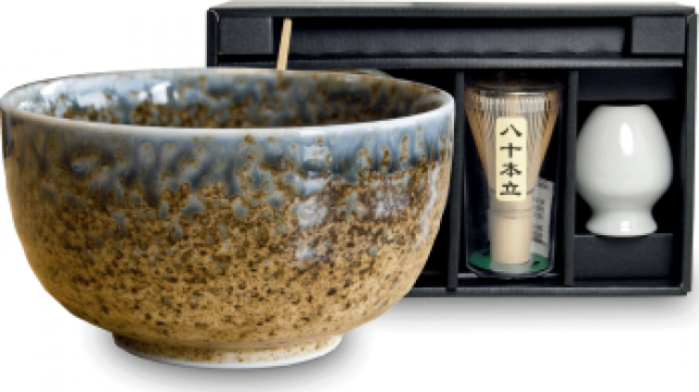 Set ceai Matcha Ki 4 piese de la Expert Factor Foods Srl