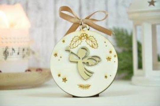 Ornamente de Craciun personalizate