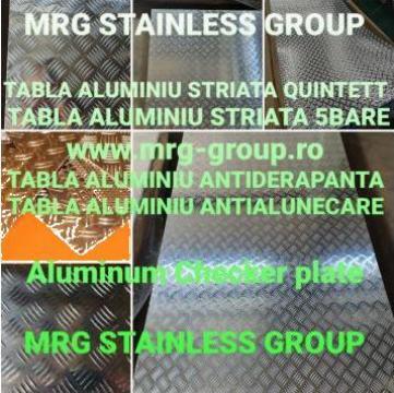 Tabla aluminiu striata Quintett 4x1000x2000mm antialunecare