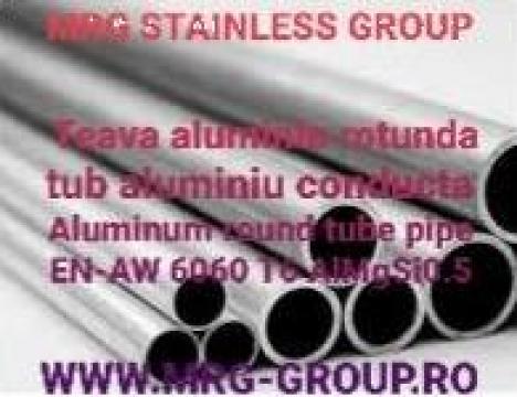 Teava aluminiu rotunda 16x2mm, conducta aluminiu de la MRG Stainless Group Srl