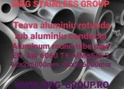 Teava aluminiu rotunda 60mm de la MRG Stainless Group Srl