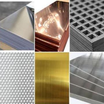 Tabla aluminiu, alama, cupru, inox, zinc de la Eurometals Service Center Srl