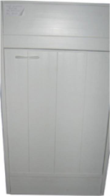 Masca bucatarie plastic 45x50 alba de la SC Ebal Com SRL