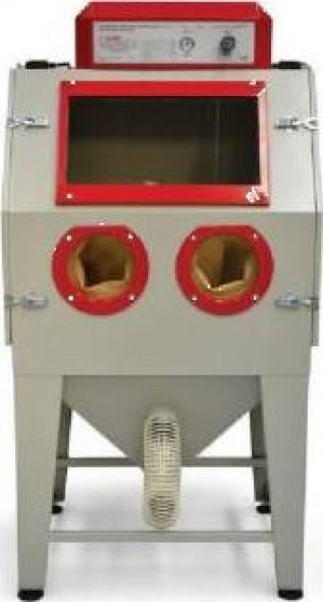 Cabina de sablat cu aer comprimat PAL 2N AC de la Proma Machinery Srl.