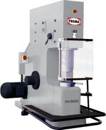 Ciocane pneumatice de forja PH-5000 de la Proma Machinery Srl.