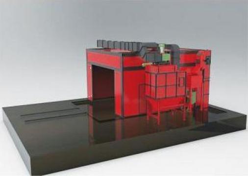 Containere de sablat PH de la Proma Machinery Srl.