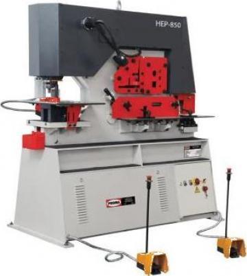 Foarfeca combinata pentru metal HEP-1150 de la Proma Machinery Srl.