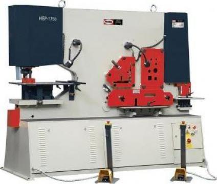 Foarfeca combinata pentru metal HEP-1750 de la Proma Machinery Srl.