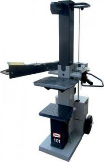Masina pentru despicat lemne HSP-10/400 de la Proma Machinery Srl.