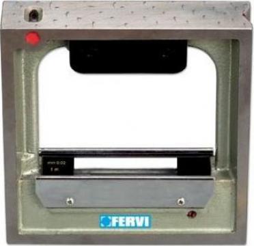 Nivela de precizie cu baza in forma de V L150 de la Proma Machinery Srl.