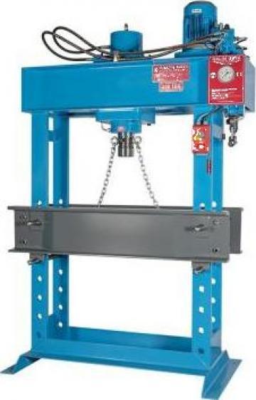 Presa hidraulica pentru atelier mecanice HD 100PM de la Proma Machinery Srl.