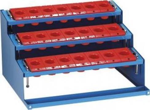 Tavita de banc cu kituri pentru conuri P340 de la Proma Machinery Srl.