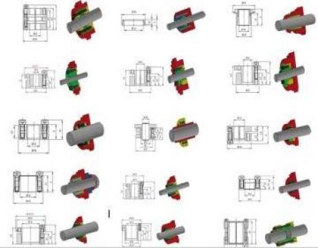 Elemente mecanice de fixare de la SC Bibis Com SRL