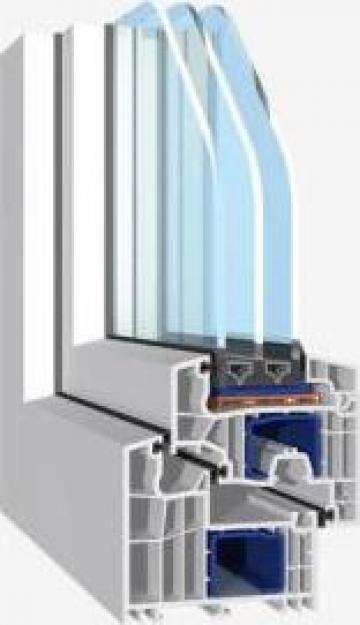 Tamplarie PVC Salamander bluEvolution 92 de la Window Solution Srl