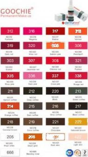 Pigment pentru tatuaj Goochie de la Bliss Cosmetics