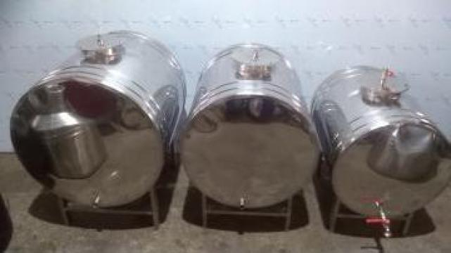 Butoi din inox pentru vin de la Nalco Ferinox Srl