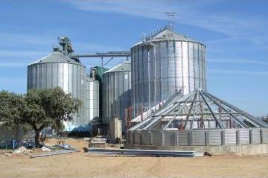 Silozuri depozitare cereale