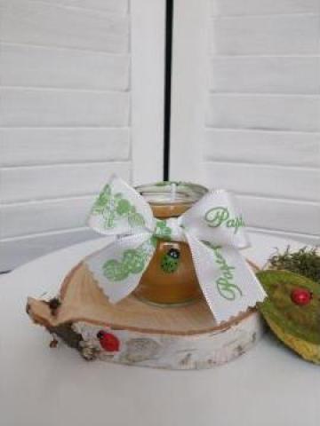 Mini candela ceara pentru Inviere 2 de la Cherciu I. Madgalina Pfa