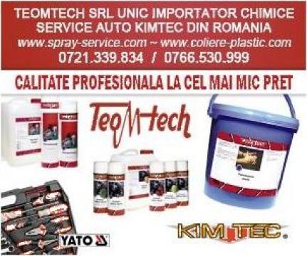 Dezinfectant maini 5litri alcoolic 75% de la Teom Tech Srl