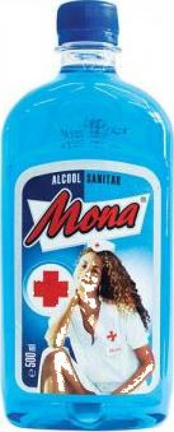 Alcool sanitar Mona 500 ml de la Teom Tech Srl