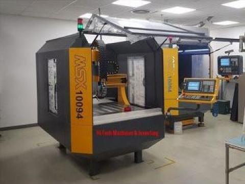 Freza CNC de la Hi-tech Machines & Inventing