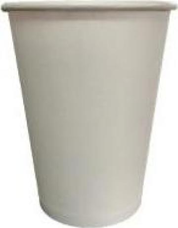 Pahare de carton albe 7 oz - 207ml de la Spot Cups Srl
