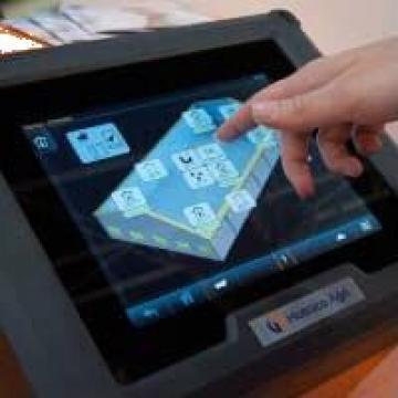 Computer touchscreen (ecran tactil) Fortica pentru broiler de la Andra Engineering
