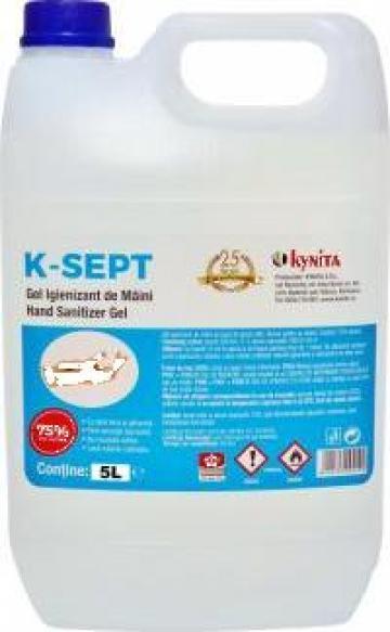 Gel dezinfectant de maini K-Sept 5L