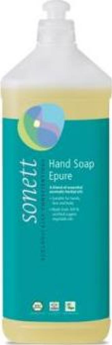 Sapun lichid ecologic - 7 esente Epure - Sonett - 1 L de la Ice Media Srl