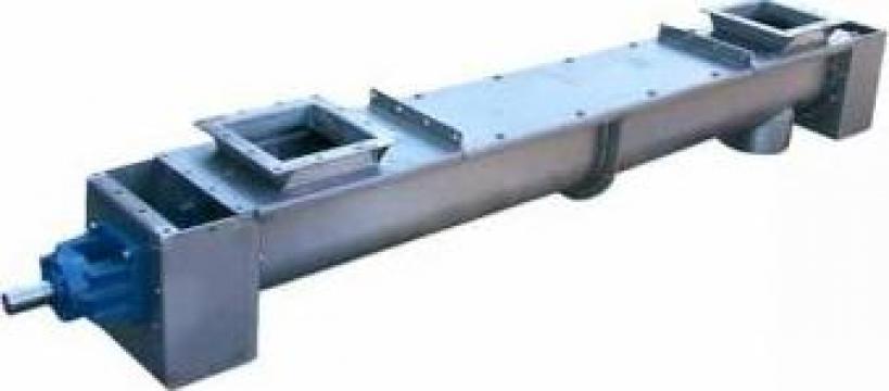 Transportoare cu snec elicoidale - temperaturi ridicate de la Proconsil Grup Iasi
