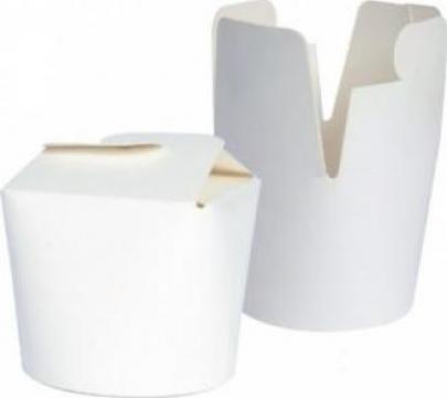 Cutie carton alb noodles 750cc de la Cristian Food Industry Srl.