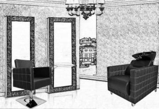 Echipament dotare salon Black Baroque Uno de la Sc Diart MP Srl
