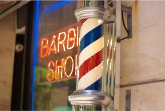 Semn luminos Barber Shop de la Sc Diart MP Srl