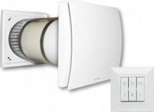 Ventilator aerisire Aerauliqa Quantum HR 150 cu controler