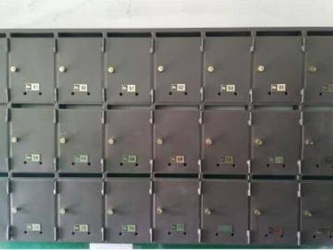 Panou cutii postale