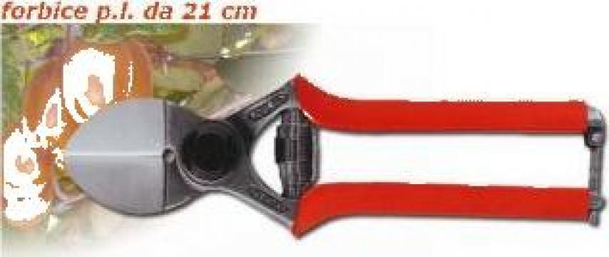 Foarfeca profesionala usoara cu dubla taiere Kuker P.L. 21cm de la Planturo