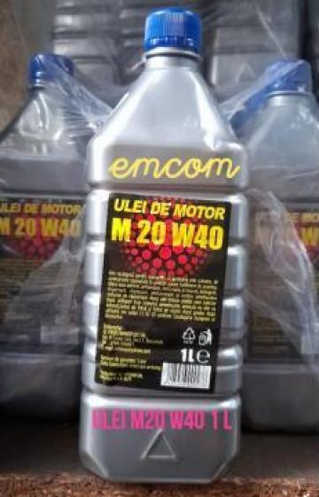 Ulei motor M20W40, 1 litru